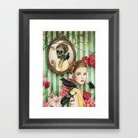 The Portrait Of Dorianne… Framed Art Print