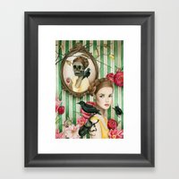 The Portrait Of Dorianne… Framed Art Print