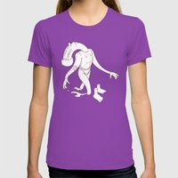 Move Ahead Womens Fitted Tee Ultraviolet SMALL