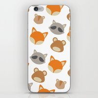 Woodlands Minimal iPhone & iPod Skin