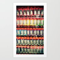 Pantone Shelf Art Print