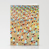 dance Stationery Cards featuring DANCE by Ben Giles