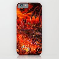 iPhone & iPod Case featuring Viking Guitar: Made of Metal by LightningArts