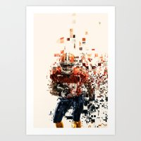 I Love My Sport Art Print
