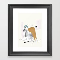 When You Cry So Much, Fl… Framed Art Print
