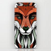 Fox // Colored iPhone & iPod Skin