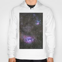 Lagoon and Trifid Nebula in Sagitarius Hoody