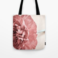 Vintage Carnation Tote Bag