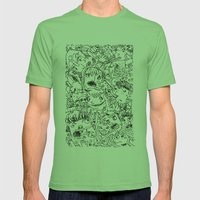 Crowd Mens Fitted Tee Grass SMALL