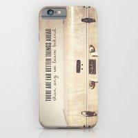 Far Better Things Ahead - Inspirational Print iPhone 6 Slim Case