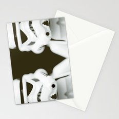 trooper portrait Stationery Cards