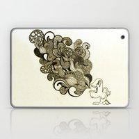 the vomit Laptop & iPad Skin