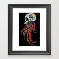Tintaskull Framed Art Print
