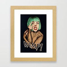Vamp Framed Art Print