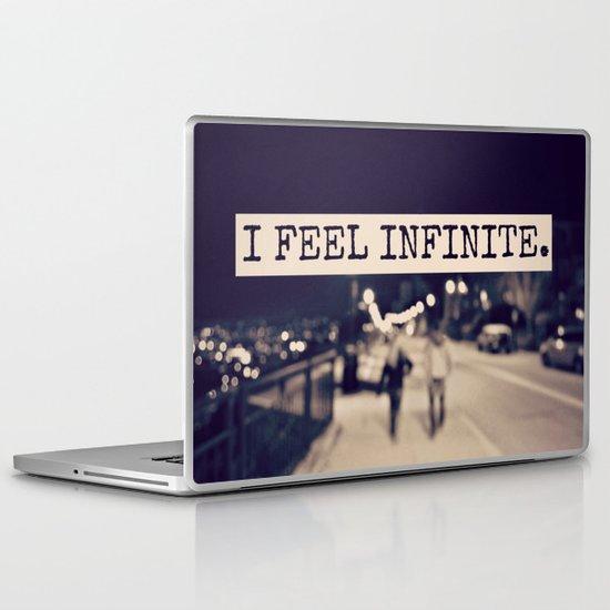 I Feel Infinite Laptop & iPad Skin