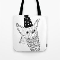 Dog Wizard Tote Bag