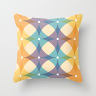 Throw Pillow featuring Starburst by Dzynwrld