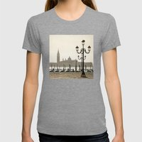 Sunny Morning At San Mar… Womens Fitted Tee Tri-Grey SMALL