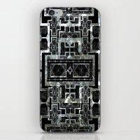 SILVER ARTDECO  iPhone & iPod Skin