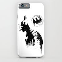 iPhone & iPod Case featuring BADMAN by kravic