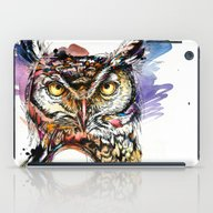 Owl Sounds iPad Case