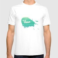 Oh Dear Mens Fitted Tee White SMALL