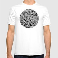 Bubbles 2 Mens Fitted Tee White SMALL