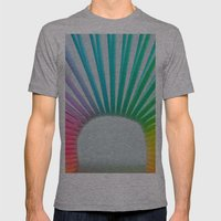 Rainbow Spring 2 Mens Fitted Tee Athletic Grey SMALL