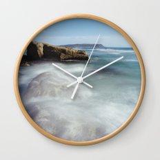 Noordhoek Beach - Long Exposure Seascape Wall Clock