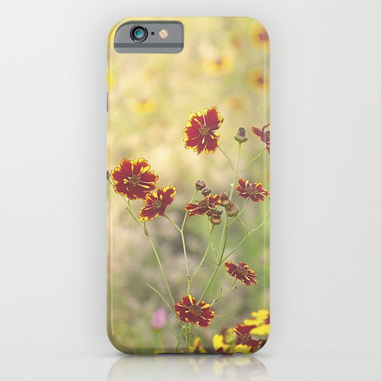 Coreopsis Flower Meadow iPhone & iPod Case