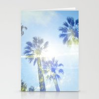 Faded Palms Stationery Cards