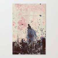 Canvas Print featuring The Fire Rises by  Maʁϟ