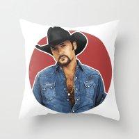 Big Tim Throw Pillow