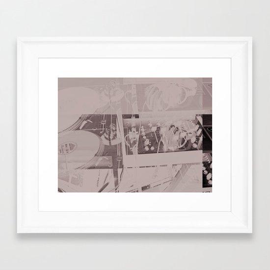 Pancake Mix  Framed Art Print