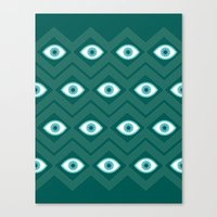 diamond eye Canvas Print