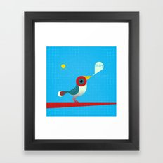 O passarinho colorido Vrsn. 01 Framed Art Print