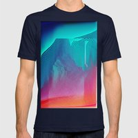 nthlvl Mens Fitted Tee Navy SMALL