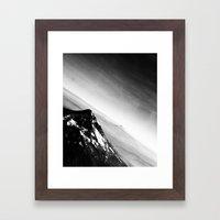Oregon Mountains Framed Art Print