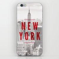 New York Cityscape iPhone & iPod Skin