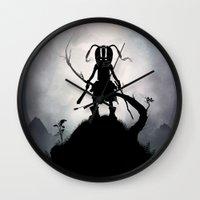 Skyrim Kid Wall Clock