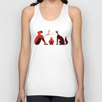 Little Red and Big Bad Unisex Tank Top