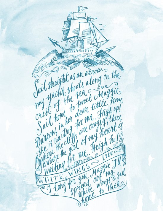 Old Sailor Song No.3 Art Print