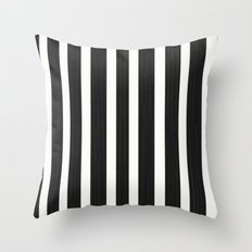 Stripe it! Throw Pillow