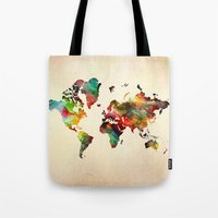 A Painted World Tote Bag