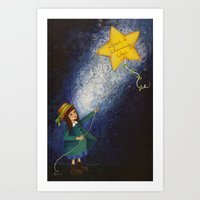 Shining Star Art Print