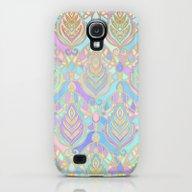 Jade & Blue Enamel Art D… Galaxy S4 Slim Case