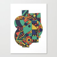 Geomets Canvas Print