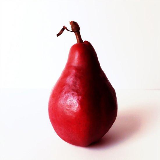 red pear Art Print