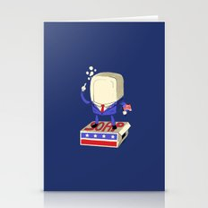 Politics Are Dirty Stationery Cards