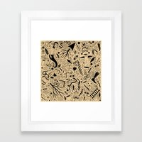 Curious Collection No. 9 Framed Art Print